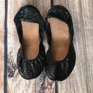 Obsidian Black Tieks Size 8